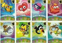 moshi monsters series 3 code breakers full sets of mirrors,reveals, scratch,base