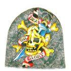 Ed Hardy Death or Glory Skull Cap NWT One Size $49