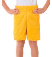 Badger Boys Athletic Cut Covered Elastic Waistband Polyester Mesh Short. 2207