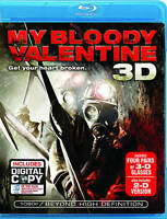 My Bloody Valentine (Blu-ray Disc, 2009, 2-Disc Set) BRAND NEW SEALED