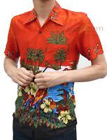 NEW retro vtg 50s style indie shirt shirt 60s xs s m l xl hawaiian Beach red