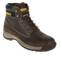 DEWALT APPRENTICE STEEL TOE WORK BOOTS Brown