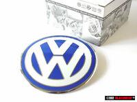 New Beetle Genuine VW Front Bonnet Badge Emblem Chrome Blue