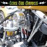 MOON HOTROD AIR CLEANER LOUVERED CHOPPER SUPER E G MOTORCYCLE CV HARLEY S&S
