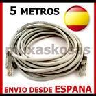 CABLE DE RED 5 METROS RJ45 CAT 5E ETHERNET INTERNET XBOX PS3 ROUTER NUEVO ES