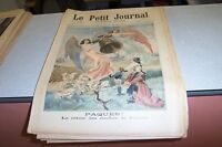 LE PETIT JOURNAL SUPPLEMENT ILLUSTRE N 437 1899 PAQUES CLOCHES FRANCE
