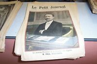 LE PETIT JOURNAL SUPPLEMENT ILLUSTRE N 397 1898 M PAUL DESCHANEL