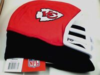 NFL Team Helmet Fleece Hat Officially Licensed Kansas City Chiefs - Medium