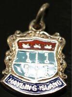 Silver Vintage Crest Charm Hayling Island BOGOF