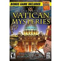 NEW SEALED Lost Secrets Vatican Mysteries Video Game for PC Computer Artifacts