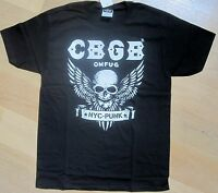 CBGB - New York Punk Club T-Shirt - Small (S) - Brand New