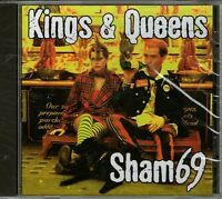 SHAM 69-Kings & Queens  CD-BRAND NEW- Still Sealed-Punk