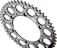 Renthal Rear Sprocket 50 Tooth Black KAWASAKI KX100 KX80 KX85 SUZUKI RM100