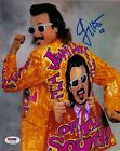 Jimmy Hart Mouth of the South Signed WWE 8x10 Photo PSA/DNA COA Picture Auto'd