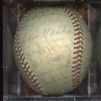 1977 Syracuse Chiefs Team Signed  IL Baseball 26 Signatures JSA LOA