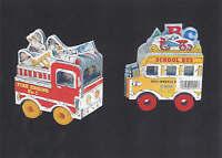 NEW Mini Wheels: Mini Fire Engine (Mini Wheel Books) by Peter Lippman