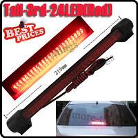 24 Red Tail Tercer LED Car Auto tercera luz de freno trasero Detener Pad DC 12V