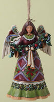 Heartwood Creek Angel with Garland Hanging Christmas Decoration 18146