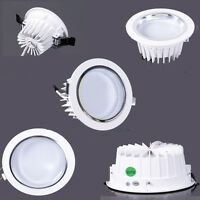 3W 5W 7W 9W 12W 15W 18W LED Ceiling Down Light Recessed Lamp Room Bulb + Driver