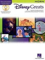 Disney Greats: for Horn Instrumental Play-Along Pack Bk/online audio (Disney Gre