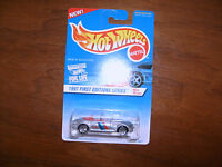 1997 HOT WHEELS FIRST EDITION #518 BMW M ROADSTER WITH RARE BLACK PAINTED BASE