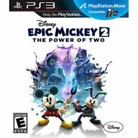 BRAND NEW Disney Epic Mickey 2: The Power of Two (Sony PlayStation 3, 2012)