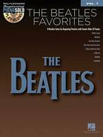 NEW The Beatles Favorites - Beginning Piano Solo Play-Along (Bk/Cd) Volume 7