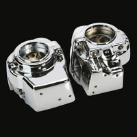 1Pair Chrome Switch Housings Cover For Harley Electra FLHT Street Glide FLHX New