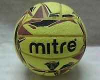 MITRE CYCLONE INDOOR FOOTBALL 5 A-SIDE YELLOW/PURPLE SIZE 4 & 5  BNIB