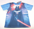 Star Wars Darth Vader Boys Blue Printed T Shirt Size 10 New