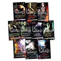 J.R.Ward Black Dagger Brotherhood Series 10 Books Collection Set