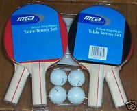 MTA Sports Deluxe four player Table Tennis Set NEW