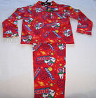 Disney Toy Story Buzz Boys Red Flannel Pyjama Set Size 6 New