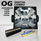 DIGITAL ballast OG grow light combo HPS lamp 4 hydroponics (400,600,1000w)