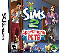 Sims 2: Apartment Pets (Nintendo DS, 2008) BRAND NEW AND SEALED NINTENDO DS GAME