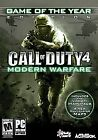 Call of Duty 4: Modern Warfare -- Game of the Year Edition (PC, 2008)
