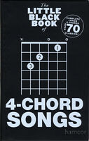 The Little Black Book of 4-Chord Songs Guitar Chords & Lyrics Music Songbook