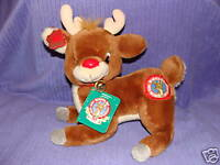 APPLAUSE 1988 RUDOLPH THE RED NOSED REINDEER TAGS COLLECTIBLE ITEM VHTF  ~ BA3