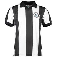 Score Draw Retro Mens Gents Football Soccer Newcastle United 1980 Shirt Jersey