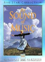 The Sound of Music (DVD, 2000, 2-Disc Set, Five Star Collection) New and Sealed!