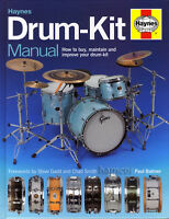 Haynes Drum-Kit Manual Learn How to Buy Maintain & Improve Drumkit HARDBACK