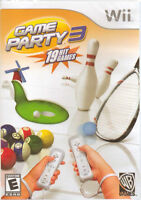 Game Party 3 (Nintendo Wii, 2009) BRAND NEW & SEALED