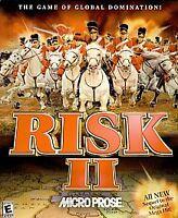 USED ATATI RISK II  Game CD IN CASE-  ARMY WAR CONQUER-- LOT M-7