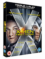 X-Men - First Class (Blu-ray and DVD Combo, 2011)