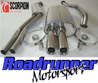 Scorpion SBM016 BMW 325 E30 (89-91) Stainless Exhaust System Full Inc Downpipe
