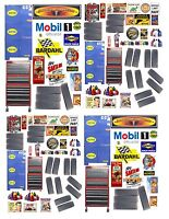 1:24th GARAGE SHOP DECALS FOR DIECAST & MODEL CAR DIORAMAS