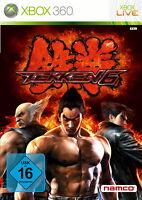 Tekken 6 (Microsoft Xbox 360, 2009, DVD-Box)
