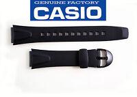 CASIO RUBBER WATCH BAND  Strap W-751 BLACK NEW /Original