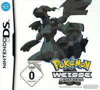 Pokémon: Weisse Edition (Nintendo DS, 2011) NEU UND ORGINALVERPACKT, Deutsch