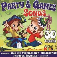 New: St. Clair Kids: Party & Games Songs  Audio CD